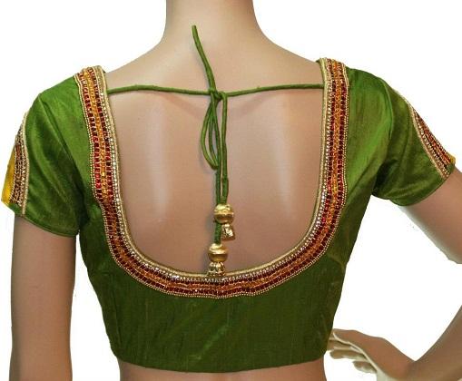Designer blouse patterns back neck5