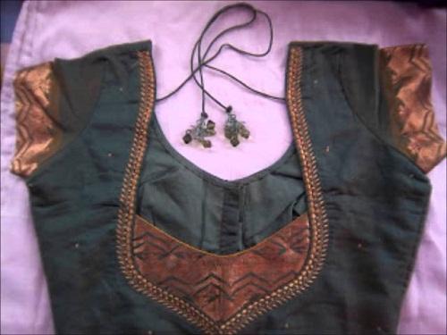 Designer blouse patterns back neck6