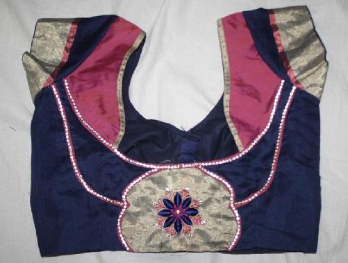 Designer blouse patterns back neck7