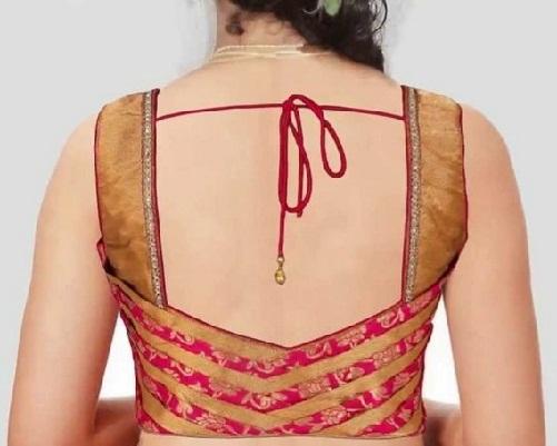 Designer blouse patterns back neck9