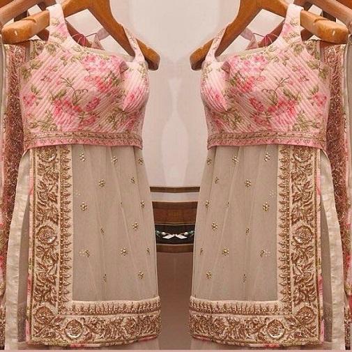 Top 15 Alluring Designs Of Designer Blouses For Net Sarees