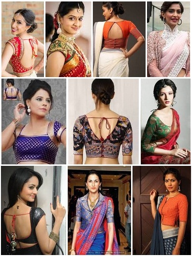 sarees blouse designs