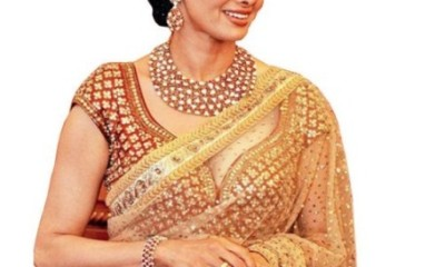 Golden Sarees