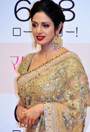 Golden Glimmering Saree Design 1