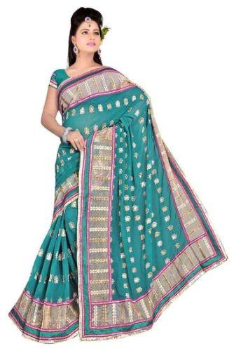 Green Sarees-Latest Design Green Saree 11
