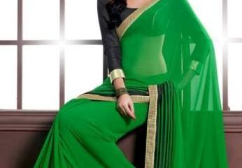 green Sarees
