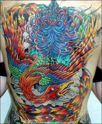 japanese-phoenix-tattoo-design