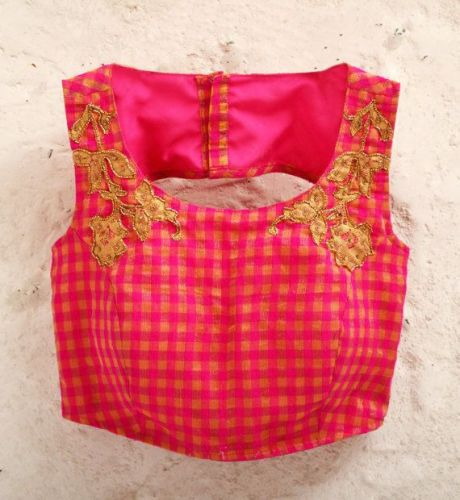 Latest Blouse Designs-Seamless Blouse