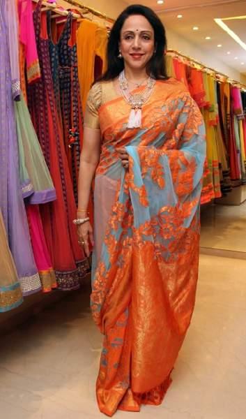 Orange sarees 9