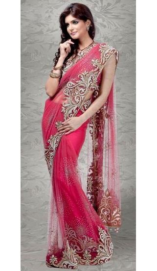Pink Designer Sarees 13