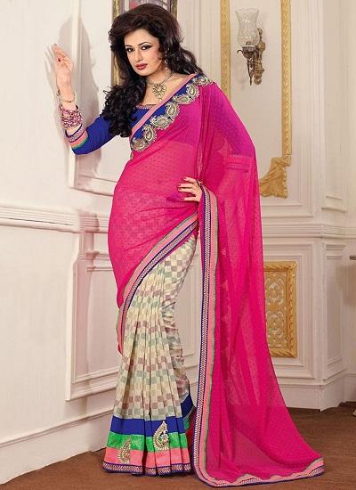 Pink Designer Sarees 6