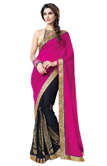 Pink Designer Sarees 7