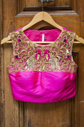Pink Sleeveless Blouse 6