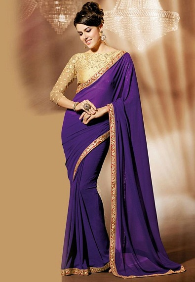 Purple sarees 10