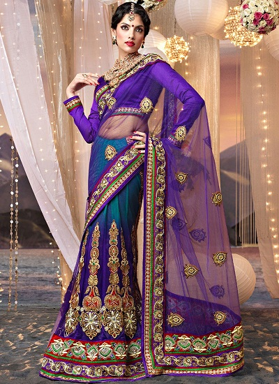 Purple sarees 14