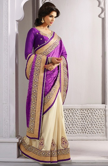 Purple sarees 7