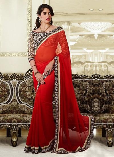 Red sarees 3