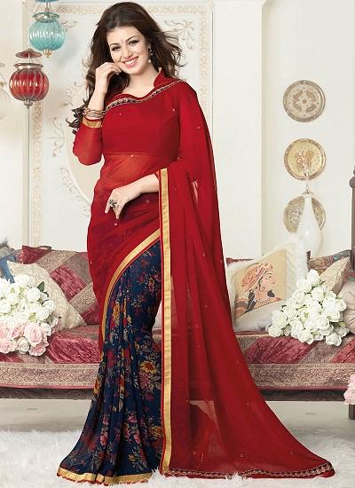 Red sarees 4