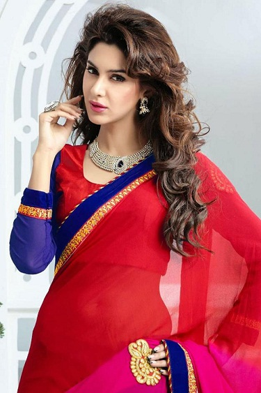 Red sarees 9