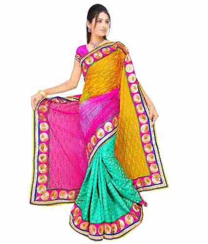 Surat Sarees-Colorful Surat Saree 1