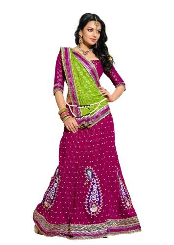 Surat Sarees-Fancy Gujarat-Made Saree 4