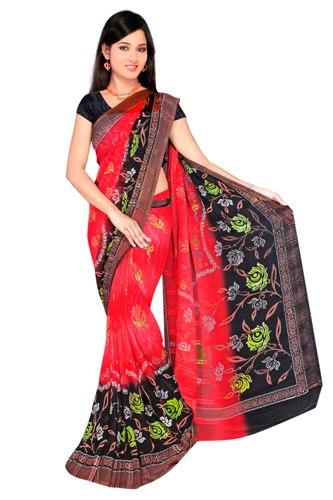 Surat Sarees-Printed Saree From Surat 7