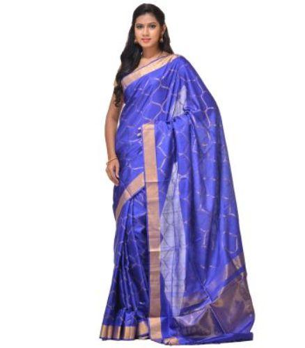 Uppada Sarees-Light Blue Uppada Saree 3