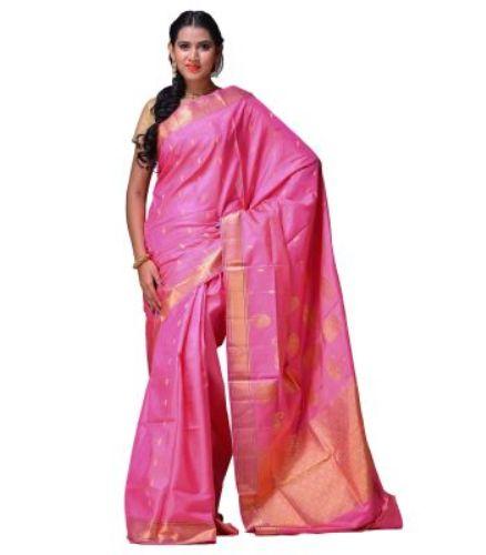 Uppada Sarees-Pink Light Uppada Saree 16