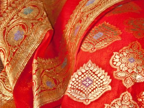 Varanasi Sarees-Deep Red Varanasi Saree 5