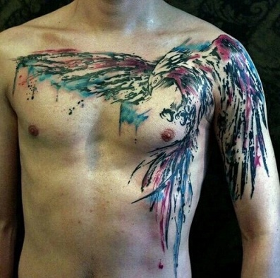 water-colour-phoenix-tattoo14