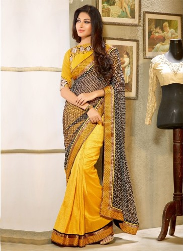 90318af562 20 Mesmerizing Yellow Sarees To Make You Look Bright! | Styles At Life