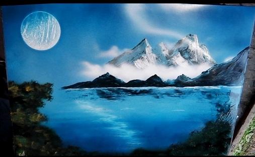 10. Spray Painting