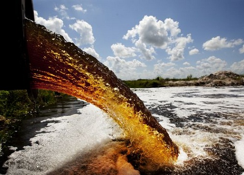 6. Chemical water pollution