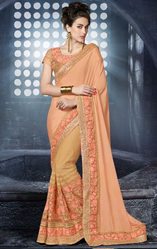 Bollywood Sarees-Alluring Designer Saree Inspired By Bollywood Beauties 10