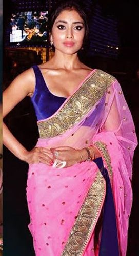 Bollywood Sarees-South Indian Celebrity Designer Saree 3