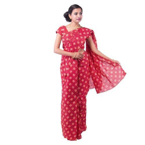 Cotton Sarees-Artistic Printed Cotton Saree Design 17
