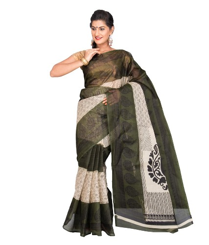 Cotton Sarees-Black Cotton Saree 21