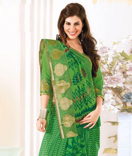 Cotton Sarees-Light Green Cotton Saree 20