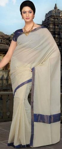 Cotton Sarees-Simple Casual Wear Cotton Saree 25