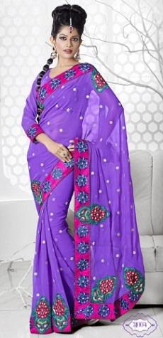 deep-violet-saree-with-blouse