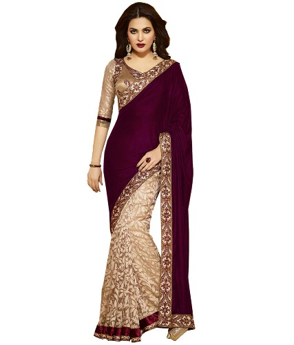 Fancy Sarees-Latest Designer Fancy Saree 3
