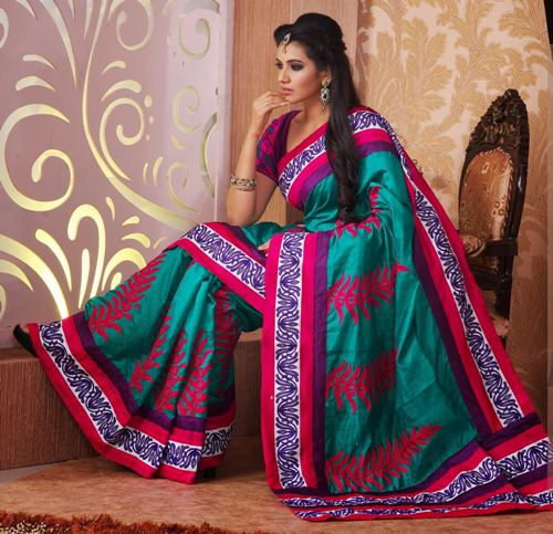 Fancy Sarees-Punjabi Designer Fancy Saree 24