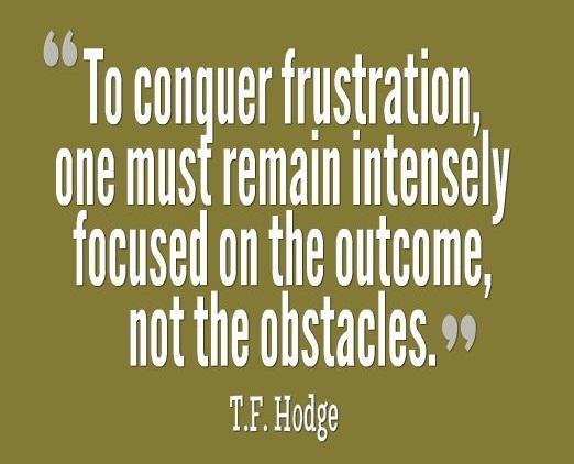 Negative Attitude List Frustration