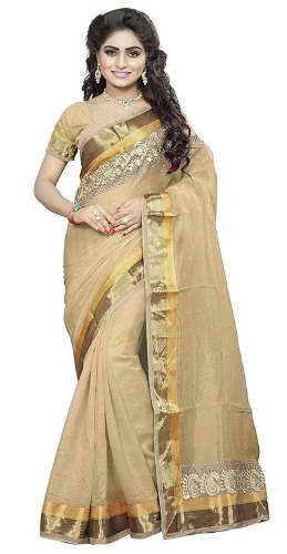 Handloom Sarees-Silk Mixture Cotton Saree 4