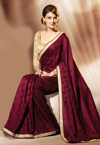 11 Best Jacquard Saree Designs With Pictures