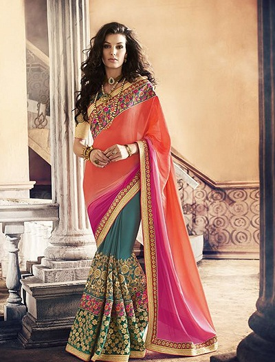Latest Saree Designs 11