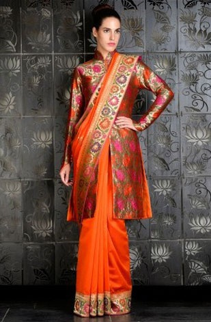 Latest Saree Designs 8