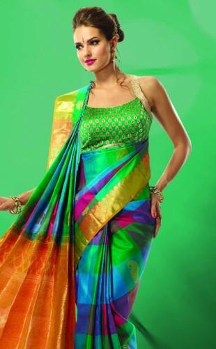Nalli Sarees-Nalli Diwali Saree Collection 6