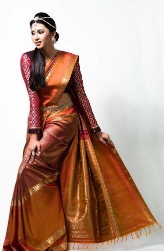 b1d25bb55b 15 Most Beautiful Nalli Sarees Collection with Images | Styles At Life