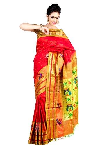 Nauravi Sarees-Artistic Nauvari Paithani Saree 5